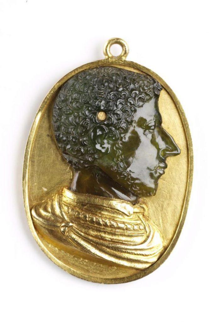 Alessandro de' Medici, Duke of Florence Cameo jewellery