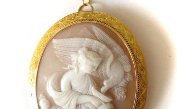 Hebe Roman Goddess Cameo