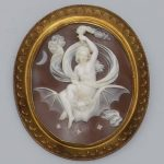 Nyx Greek Goddess Cameo