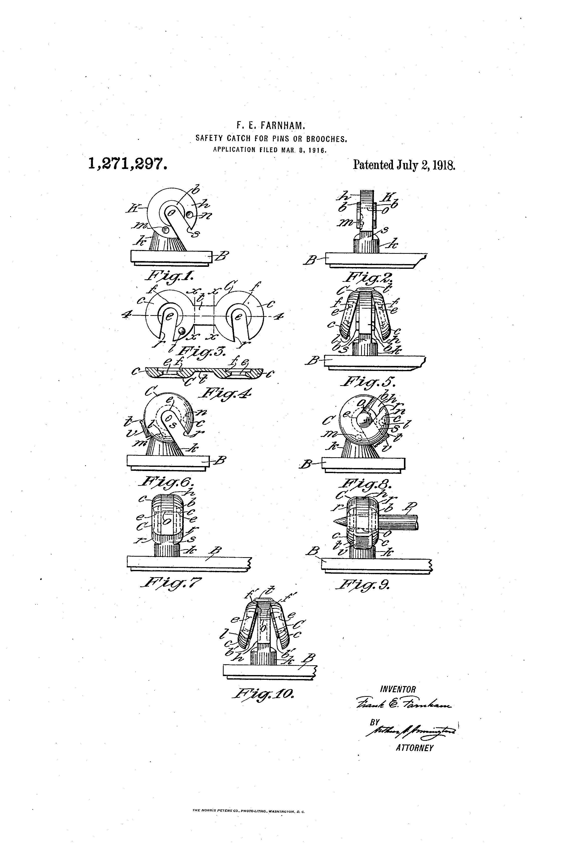 Safety catch diagram