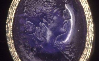 Amethyst intaglio 3rd Century BC