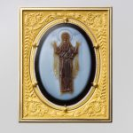 Agate cameo of the Virgin and Child