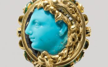 Cameo ring possibly of Alexander the Great.