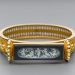 Hinged bracelet with cameo Tiffany & Co.