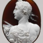 Sardonyx cameo portrait of the Emperor Augustus Period: Early Imperial, Claudian Date: ca. A.D. 41–54